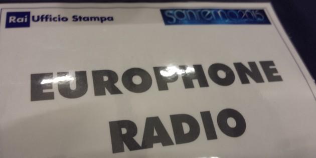 Europhone Radio a Sanremo